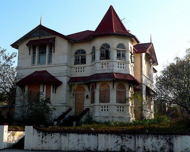 abandoned...beautiful home