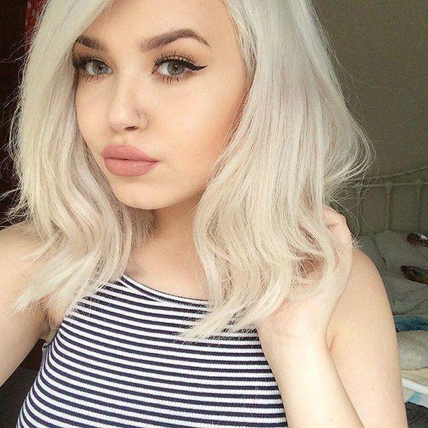 Alternative Art Blond Blonde Cute Dye Hair Fashion