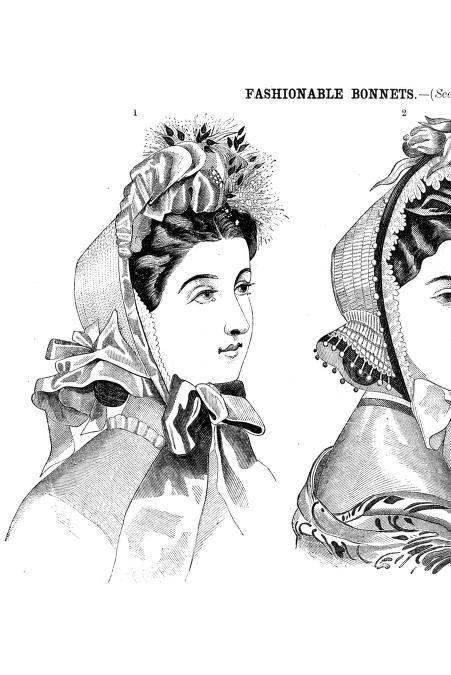1864 Godey's civil war era fashion