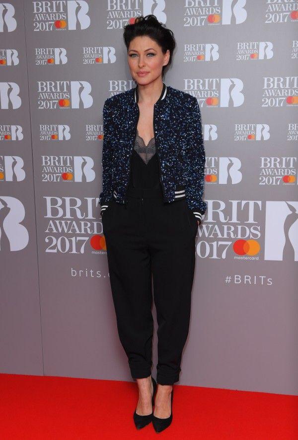 Emma Willis Plays It Cool In Sequin Bomber Jacket