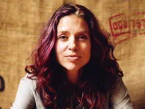 Ani DiFranco - look at her aging gracefully, but still full of fire and grit. :)