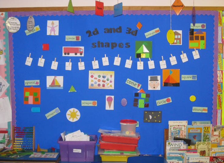Classroom Display Ideas Ks4 ~ D and shapes ks display maths resources