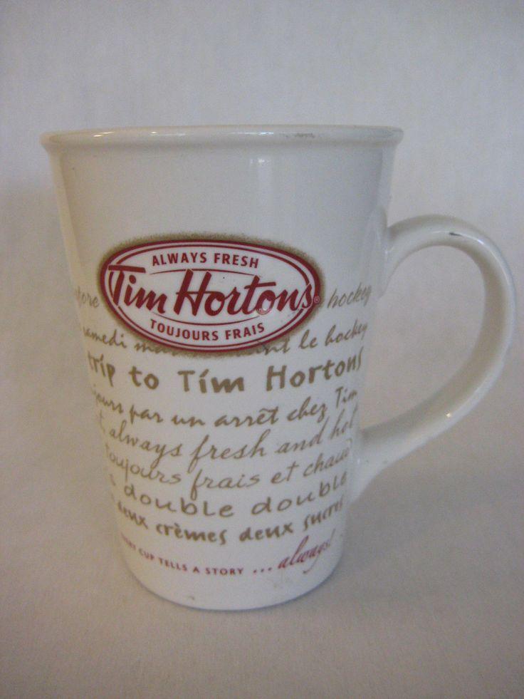 2009 Tim Horton's Always Fresh Road Trip #9 Limited Edition Coffee Mug