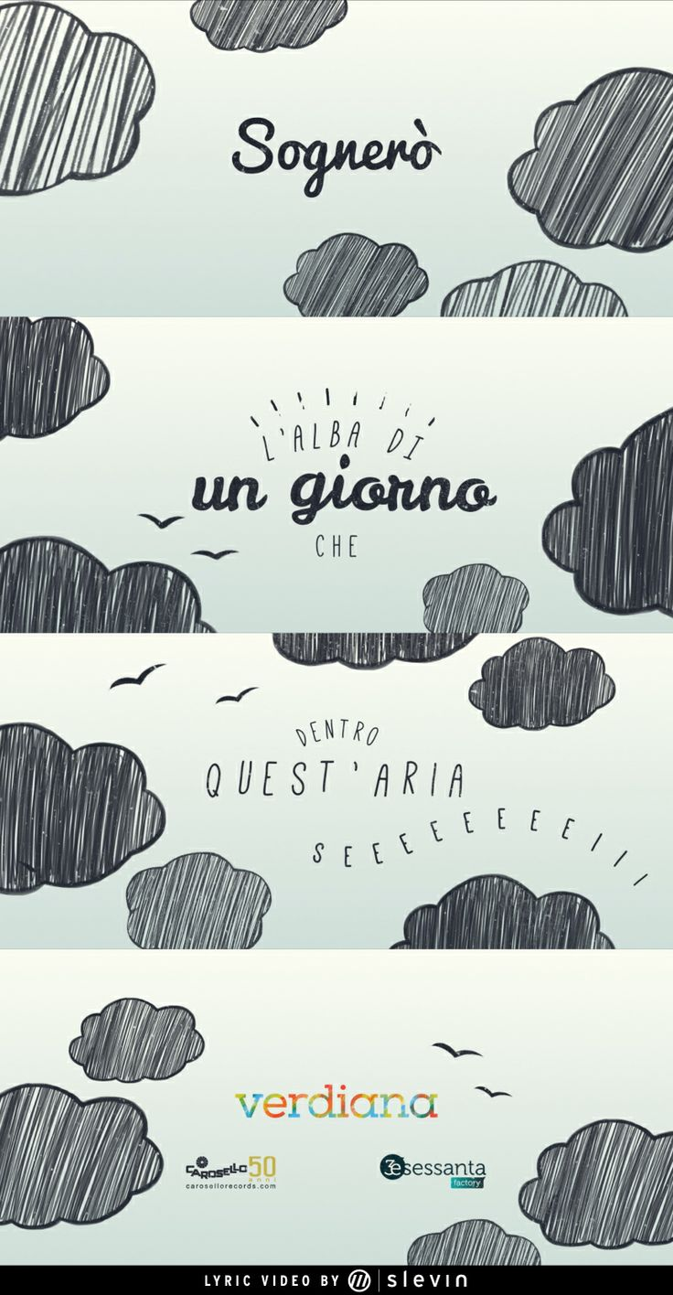 """This is our last video work! A #lyric #video for the #song """"Aria"""" of Verdiana Zangaro. Check it: http://www.slevin.it/7688/Verdiana-Aria-Lyric-video #slevinismore #clouds #dreams"""