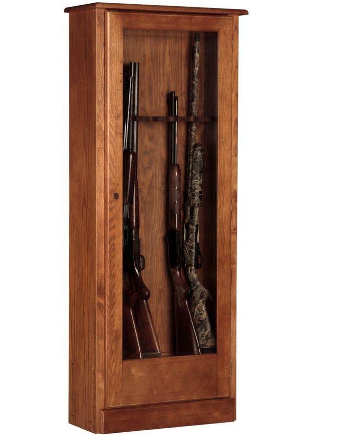 10 Cabinet Safe Locking Key Storage Cabinetry Hunting Cabinet Home NEW Wood  #AmericanFurnitureClassics