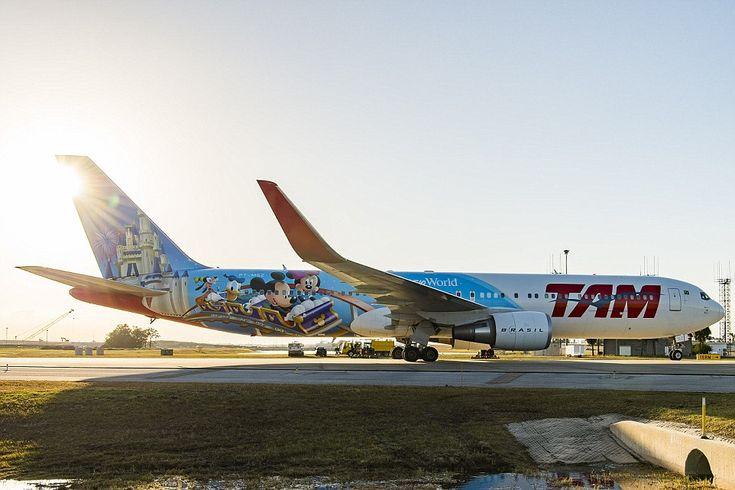 TAM's 767 Disney Livery