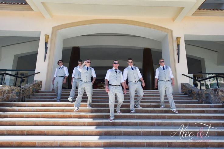 Groomsmen wedding Los Cabos Mexico Daily Blog feature http://bit.ly/1QXAiEM #lizmooreweddings