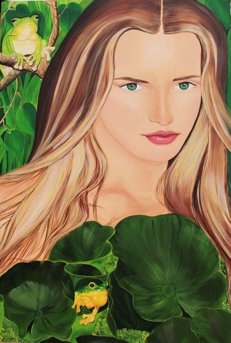 Eve Original artwork on canvas