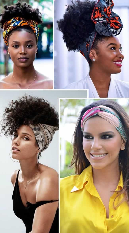 Como amarrar lenço na cabeça: Passo a passo para você fazer já! em 2021 | Lenços para cabelo curto, Cabelo, Turbante para cabeça