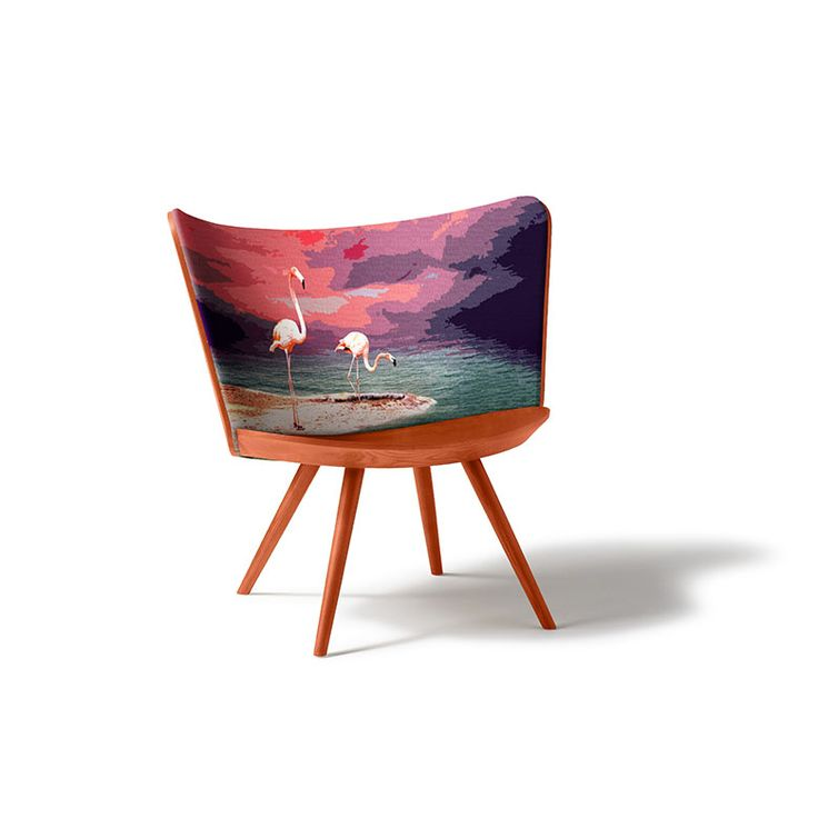 Few hours remain to switch from our Spring Embroidery Chair by Cappellini to our Summer one!