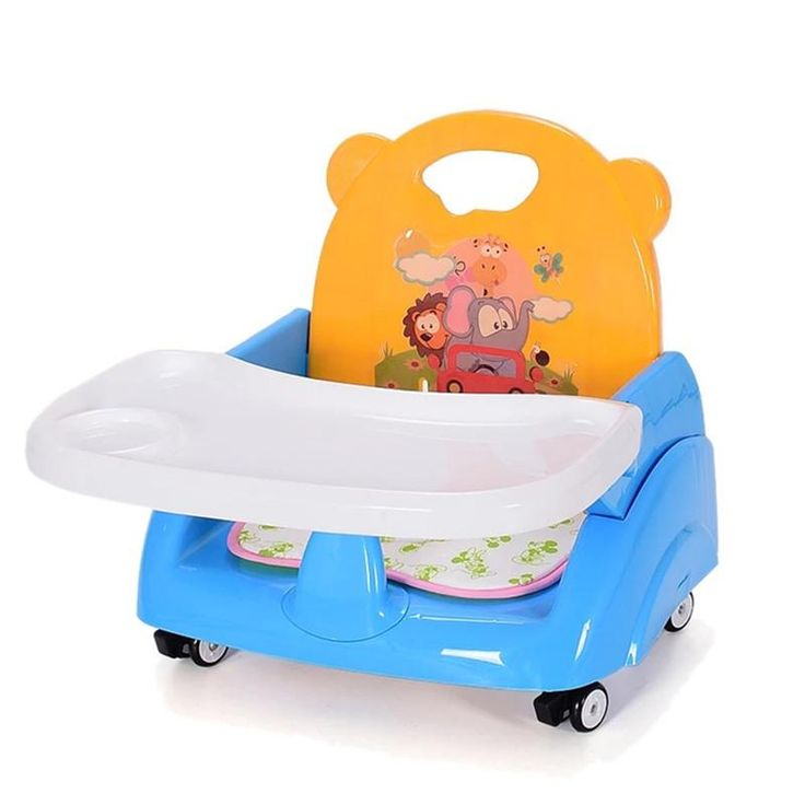 Foldable Portable Adjustable Baby High Chair/ Booster Seats