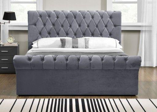 łóżko Tapicerowane Do Sypialni 1298g 160x200 Sypialnia W