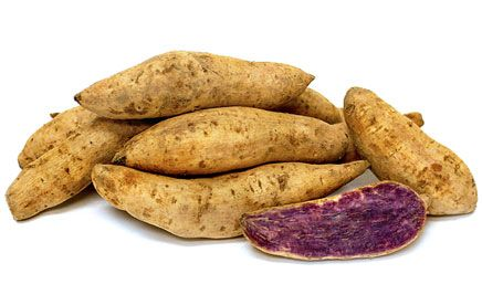 Link to Okinawan Sweet Potatoes, Facts about these yams and recipes.