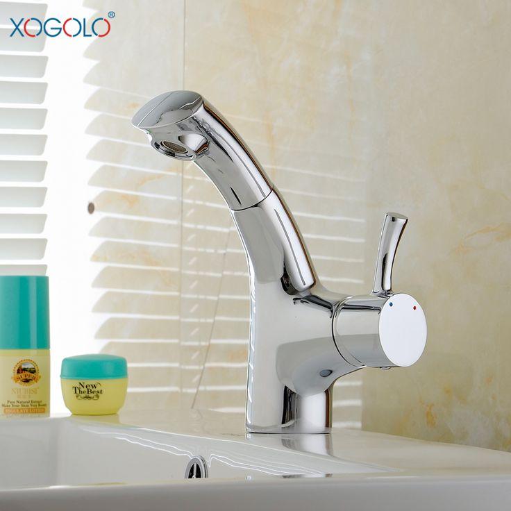 Купить товарXogolo потянув все медные горячие и холодные краны бассейна кран бассейна ванной смеситель для умывальника 12038 в категории Наполнительные клапанына AliExpress.