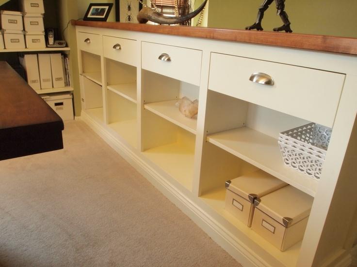 Best Bookcase Railing Home Room Design Small Basement 400 x 300