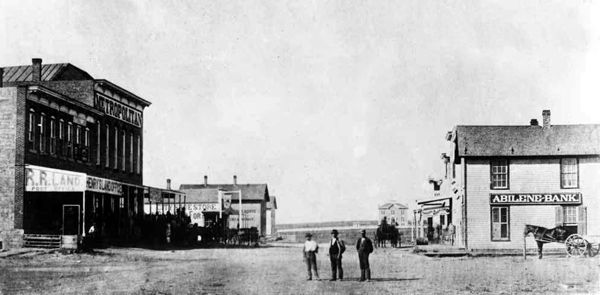 In 1867 Abilene became the first of the cowboy boomtowns, much loved by Hollywood, and Abilene set the trend that all other cow towns followed. Description from therealwildwest.com. I searched for this on bing.com/images