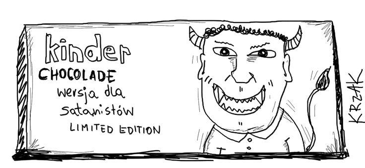 #sataniści #kinder
