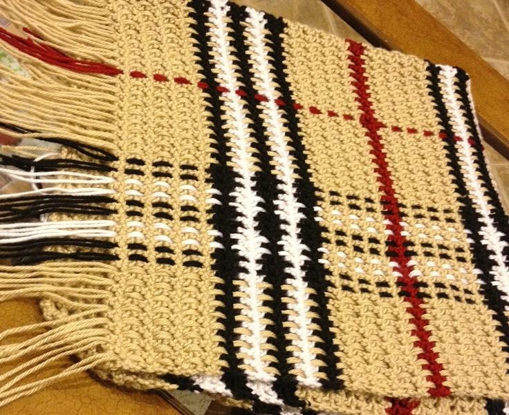 Norway Burberry Scarf Pattern Knitting 2f4ec 214b2