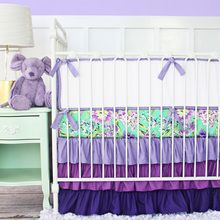 Baby Bedding - Shop By Nursery Color | Design - Purple Baby Bedding - Caden Lane Baby Bedding