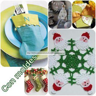 Delicadezas en crochet Gabriela: Manualidades de navidad