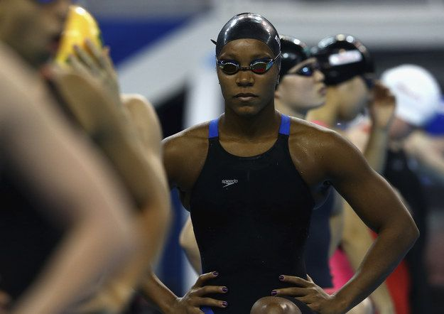 This woman is beyond awesome...Jamaica's Alia Atkinson has become the first black woman to claim a world title in the pool, finishing first in the final of the 100 meters breaststroke at the world short course swimming championships in Doha. | This Black Jamaican Woman Just Made Swimming History And Her Reaction Was Amazing