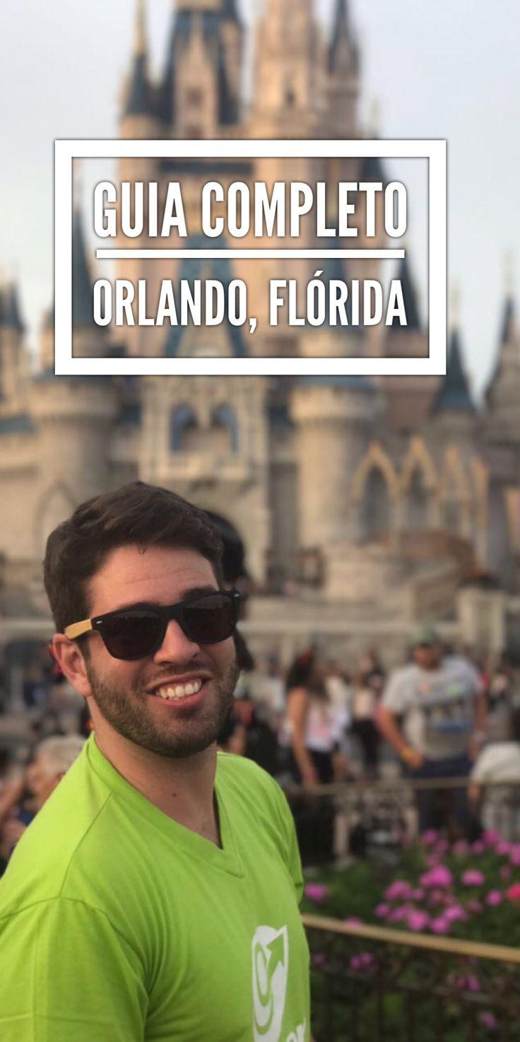 Guia completo com todos os posts do blog sobre Orlando para você montar a sua própria viagem
