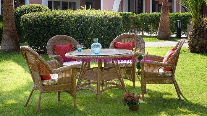 İstikbal solar oval bahçe masası