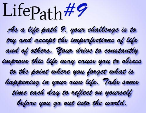 Life Path #9