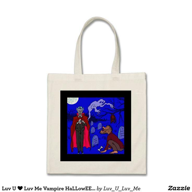 Luv U ❤️ Luv Me Vampire HaLLowEEn Bag