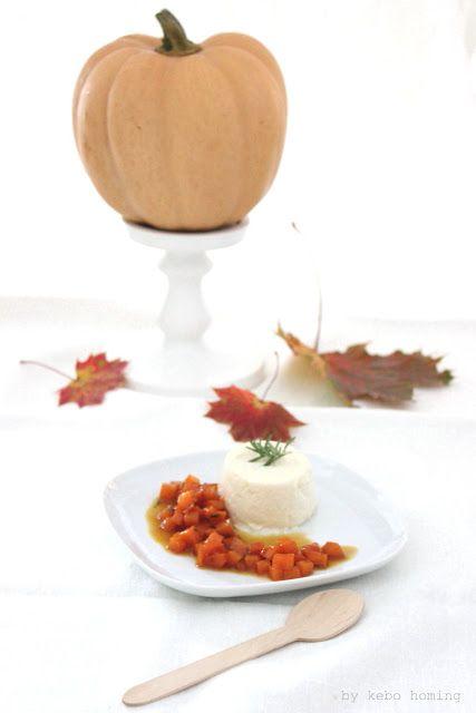 Sunday Lunch Dessert: Zimtpannacotta mit Kürbiskompott zum 3. Geburtstag der Geschmeidigen Köstlichkeiten