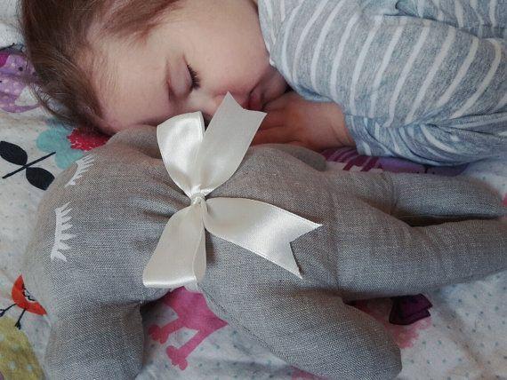 Cute sleeping friend  buckwheat hulls and by LovelyCraftsHome
