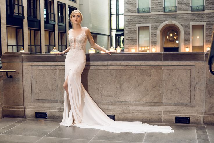 Looking for an extraordinary wedding dress made by your measurements in Montreal area? Visit www.lilia-couture...