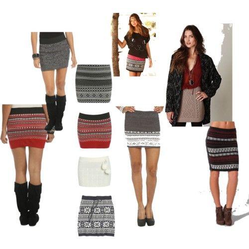 Sweater Skirt Love