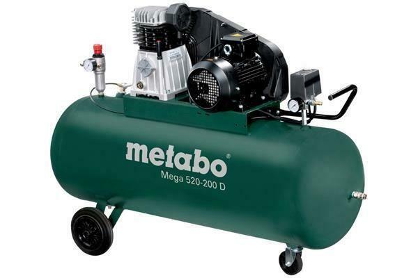 Ebay Sponsored Metabo Kompressor Mega 520 200 D 10 Bar 3 Kw Outils Electriques Assemblages Bois Et Outils