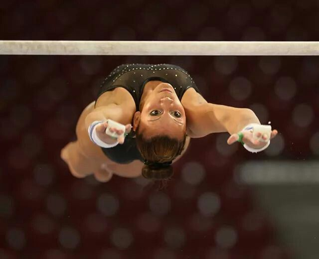 Becky Downie on bars