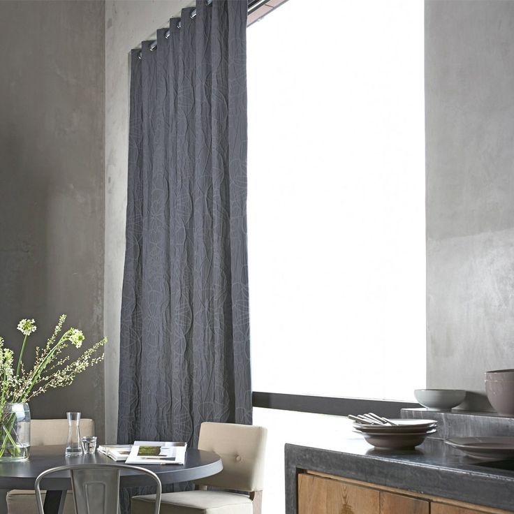 Gordijnen curtains muren en gordijnen pinterest for Railing kussens
