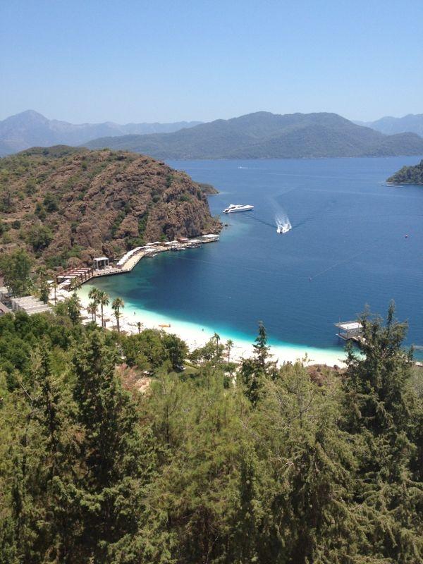Marmaris Bay on the Mediterranean