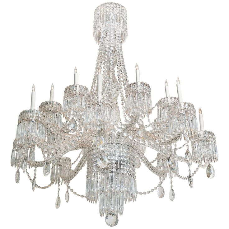 An Impressive Massive French Crystal Chandelier 1stdibs