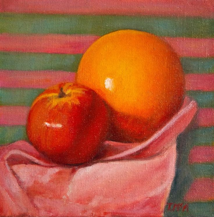 Small Still Life  oil Painting 6 x6 inches #realism