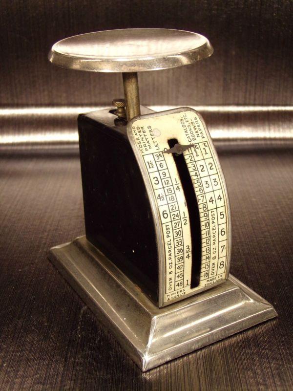 eBay, c'est vous! Achetez M.MYERS & SONS POSTAL SCALE Pèse lettre Made in England USA 1900's dans la catégorie PME, artisans, agriculteurs, Emballage, expédition, Balances postales sur eBay, au format Enchères ou à Prix fixe!