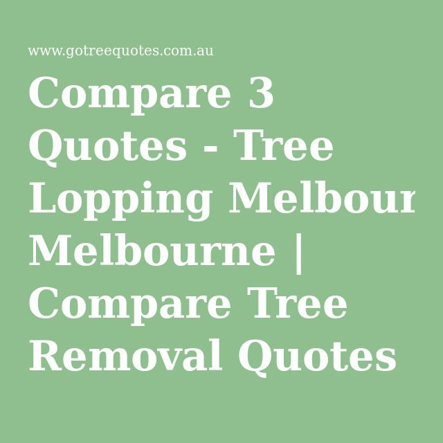 Tree Lopping Melbourne | Compare Tree Removal Quotes - Free Service