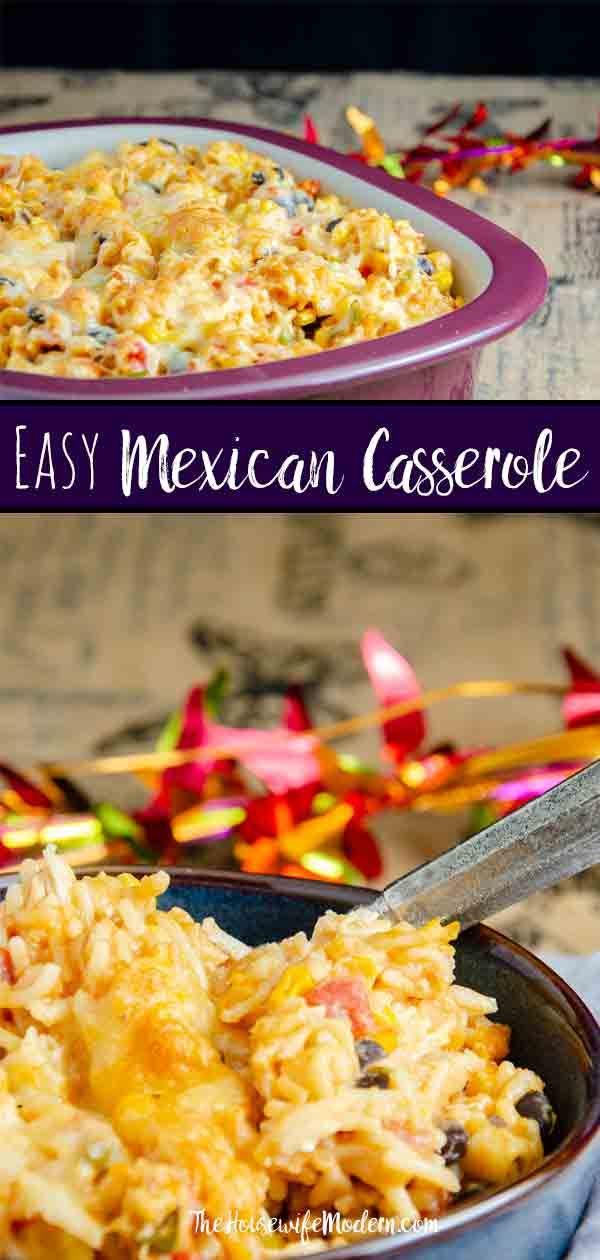 Easy Mexican Chicken Casserole Recipe Cinco De Mayo Mexican