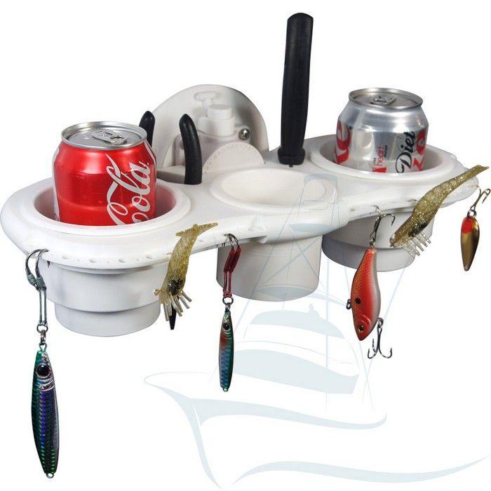 boat accessories | Fishermans Cup Holder with SeaSucker Vacuum Mount
