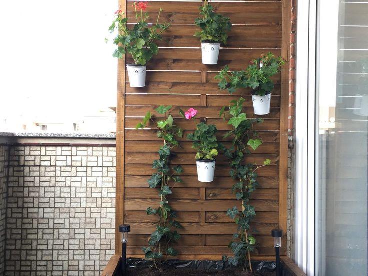 Balkon Sichtschutz Blumenkübel DIY Anleitung in 2020