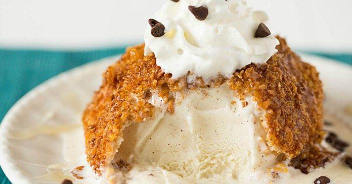 recept na smaženou zmrzlinu