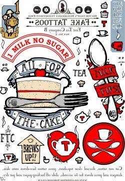 Fake Tattoos - First Tea Company B