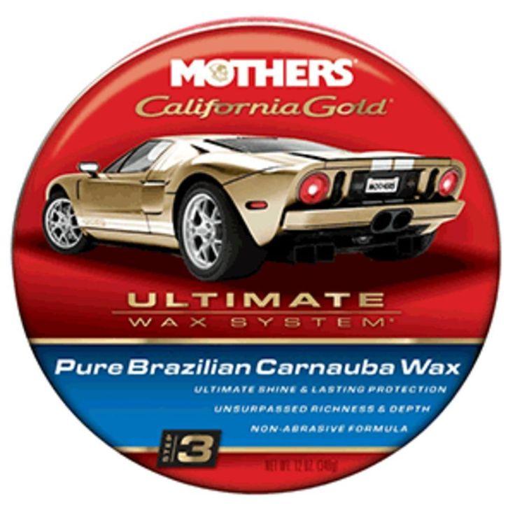 Mothers California Gold Pure Brazilian Carnauba Cleaner Wax