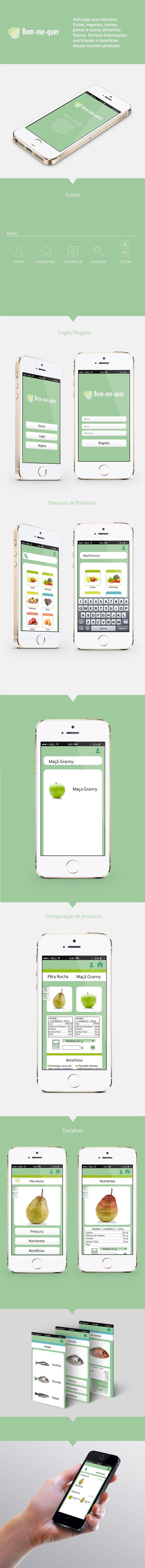 Aplicação Mobile: Bem-me-quer on Behance
