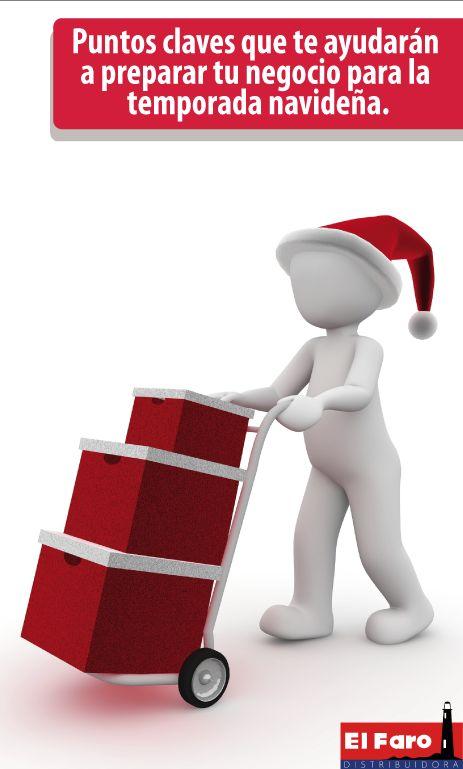 Consejos para que tu negocio luzca con un buen ambiente navideño.