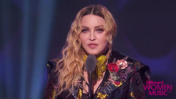 Madonna's Full Acceptance Speech at Billboard Women In Music 2016